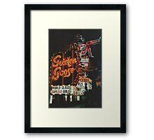 VegasNoir Framed Print