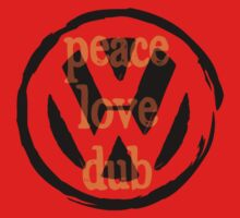 Peace Love Dub Kids Tee