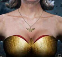 Hillary Wonder Woman Sticker