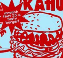 The Big Kahuna Burger Sticker