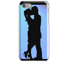 Silhouette Lovers iPhone Case/Skin