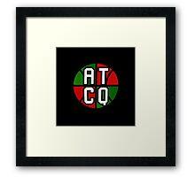 ATCQ - logo Framed Print