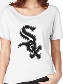 Chicago White Sox Logo Women's Relaxed Fit T-Shirt
