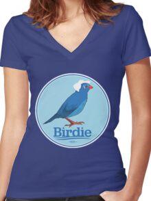 Bird of Bernie 2016 Women's Fitted V-Neck T-Shirt