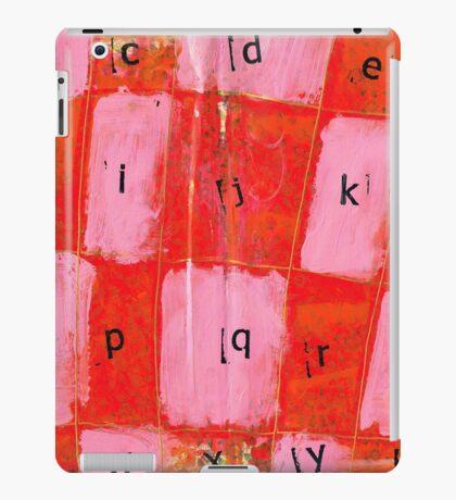 alphabet iPad Case/Skin
