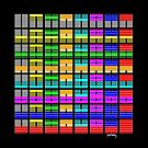 64 symbols in colour by telberry