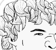 I Don't Have Friends -Derp Sherlock Sticker