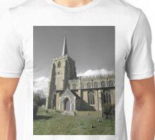 Green & Beige Tones, St Mary's, Bramford Unisex T-Shirt