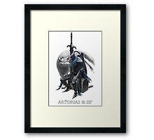 Artorias & Sif Framed Print
