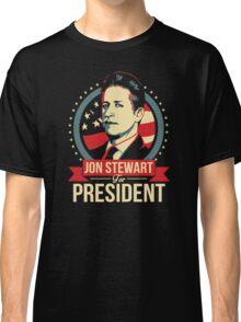jon stewart president Classic T-Shirt
