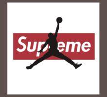 Supreme/AirJordan One Piece - Short Sleeve