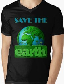 Earth Day Mens V-Neck T-Shirt
