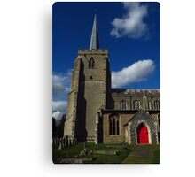 St Mary's, Bramford, Suffolk Canvas Print