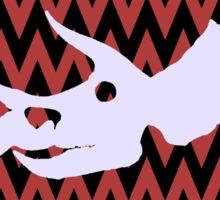 Triceratops Skull Sticker