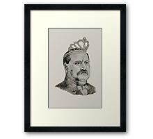 S. Grover Cleveland Framed Print