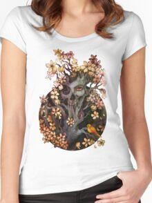 Orange Bird Women's Fitted Scoop T-Shirt