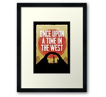 Once Upon a Time in the West - Hanging Framed Print