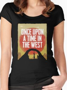 Once Upon a Time in the West - Hanging Women's Fitted Scoop T-Shirt