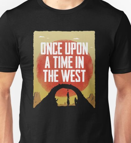 Once Upon a Time in the West - Hanging Unisex T-Shirt