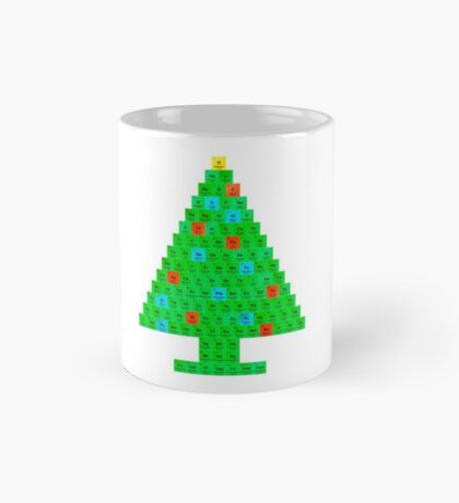 Chemistry Christmas Tree Periodic Table Mug