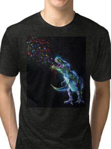 Crystal T-Rex Tri-blend T-Shirt