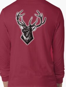 STAG, STAG DO, Stag Head, The Stag, Deer, Antlers, Hunt, Hunting Long Sleeve T-Shirt