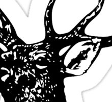 STAG, Stag Head, The Stag, Deer, Antlers Sticker