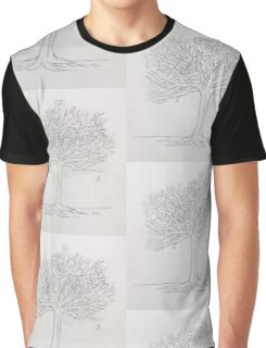SadTree-Pencil Graphic T-Shirt