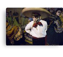 All Souls Procession 2014. Baile Folklorico. Tucson, Arizona, USA. Canvas Print