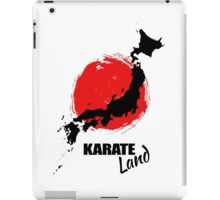 Karate Land - Japanese martial Art iPad Case/Skin