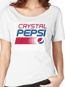 Pepsi Crystal Women's Relaxed Fit T-Shirt