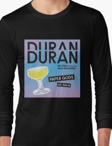 duran duran paper gods on tour Long Sleeve T-Shirt