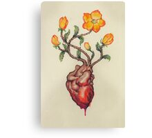 This Blossoming Bleeding Heart Canvas Print