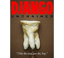 Minimalist Tarantino- Django Unchained Photographic Print