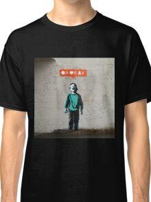 Street Art Nobody Likes Me Classic T-Shirt