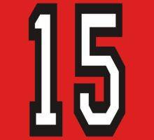 15, TEAM SPORTS, NUMBER 15, FIFTEEN, FIFTEENTH, Competition,  One Piece - Long Sleeve