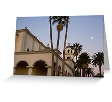 Saint Augustine Cathedral. Tucson, Arizona, USA. Greeting Card