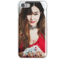 Tiffany snsd dear santa iPhone Case/Skin