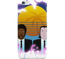 80s Inspired Pulp Fiction iPhone Case/Skin