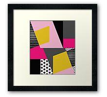 Geometric#13 Framed Print