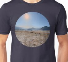 sky and mountains Unisex T-Shirt