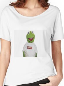 Supreme Kermit Women's Relaxed Fit T-Shirt