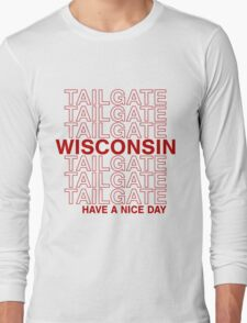 Wisco Tailgate Long Sleeve T-Shirt