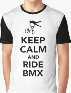 Keep calm and ride BMX Graphic T-Shirt