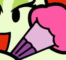 Paper Mario Lady Bow Boo Sticker