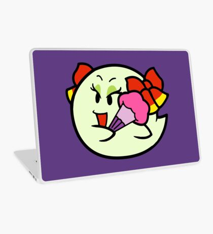 Paper Mario Lady Bow Boo Laptop Skin