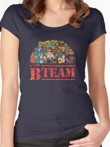 The B Team Women's Fitted Scoop T-Shirt