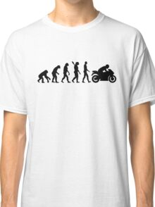 Evolution motorcycle Classic T-Shirt