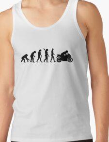 Evolution motorcycle Tank Top