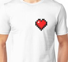 Minecraft Heart Unisex T-Shirt